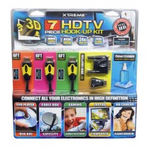 Xtreme 7 Piece HDTV Hook-Up Kit