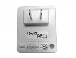 RoyalPlus HomePlug Powerline Network Ethernet Bridge RPL-500D-500Mbps (Pair)