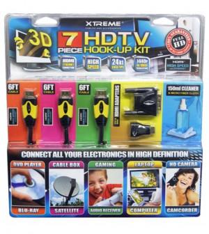 Xtreme 7 Piece HDTV Hook-Up Kit