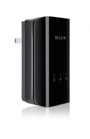 Belkin Powerline AV500 Network Adapter Kit (2 Adapters Included)